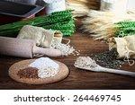 baking homemade bread | Shutterstock . vector #264469745