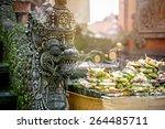 Statues Of Hindu God Or Demons...