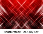 abstract red fractal background