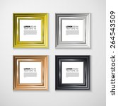 picture frame vector. photo art ... | Shutterstock .eps vector #264543509