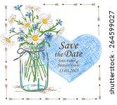 Wedding Invitation With Mason...