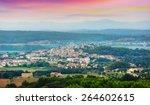 view of pals area in summer.... | Shutterstock . vector #264602615