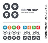 sale pointer tag icons.... | Shutterstock .eps vector #264610511