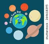 vector illustration. earth day. ... | Shutterstock .eps vector #264618395