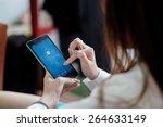 chiang mai  thailand   march 29 ... | Shutterstock . vector #264633149