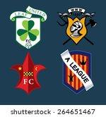 sport logos set | Shutterstock .eps vector #264651467