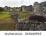 the beautiful mayan ruins in... | Shutterstock . vector #264660965