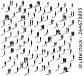 diverse ethnic business... | Shutterstock . vector #264673895