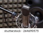 tube microphone  professional... | Shutterstock . vector #264690575