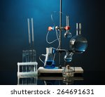 Fixed Laboratory Glassware On...