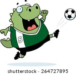 a cartoon illustration of a...   Shutterstock .eps vector #264727895