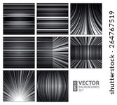 abstract white  grey and black... | Shutterstock .eps vector #264767519