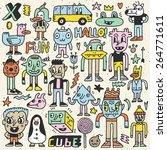 Wacky Crazy Colorful Doodles...