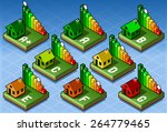 isometric set energy... | Shutterstock . vector #264779465