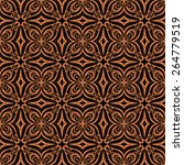 seamless vintage lace pattern ... | Shutterstock .eps vector #264779519