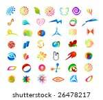 elements for print and web usage | Shutterstock .eps vector #26478217