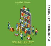 Online Mobile Library Creative...