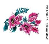 Bougainvillea Decorative Flower