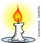 candle | Shutterstock .eps vector #2648296