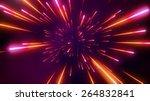 futuristic space tunnel | Shutterstock . vector #264832841