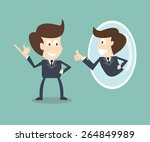 transform yourself with... | Shutterstock .eps vector #264849989