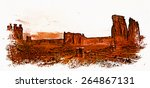 the courthouse wash area of... | Shutterstock . vector #264867131