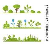 illustration collection set... | Shutterstock .eps vector #264903671