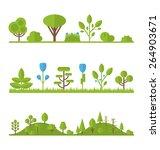 illustration collection set... | Shutterstock .eps vector #264903671