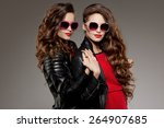 ������, ������: Sisters twins in hipster