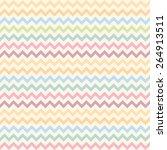 chevron pattern for eggs | Shutterstock .eps vector #264913511