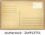 postcard | Shutterstock .eps vector #264913751