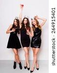 Three Beautiful Elegant Women...