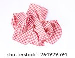 dishcloths cotton  ruffled  in... | Shutterstock . vector #264929594