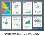 infographic brochures and... | Shutterstock .eps vector #264930209
