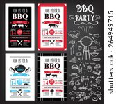 barbecue party invitation. bbq...
