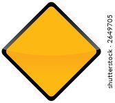 road sign isolated background... | Shutterstock . vector #2649705