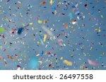 festive colorful confetti... | Shutterstock . vector #26497558