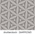 seamless linear pattern.... | Shutterstock .eps vector #264991565