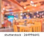 coffee shop blur background... | Shutterstock . vector #264996641