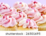 Lots Of Tasty Cupcakes With...