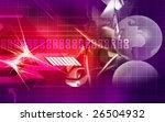 digital illustration of earth... | Shutterstock . vector #26504932