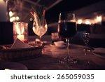 Glass Of Wine Restaurant...