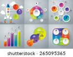 infographic design template can ... | Shutterstock .eps vector #265095365