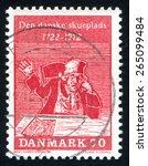 denmark   circa 1972  stamp... | Shutterstock . vector #265099484