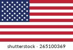 united states of american  flag ... | Shutterstock .eps vector #265100369