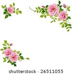 floral frame. | Shutterstock . vector #26511055