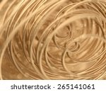 abstract gold background | Shutterstock . vector #265141061