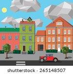 city | Shutterstock . vector #265148507