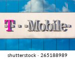 Small photo of PARSIPPANY, NJ, USA - MARCH 30, 2015: Facade of the T-Mobile USA regional headquarters. T-Mobile USA, a subsidiary of T-Mobile International AG, is one of the four national wireless carriers.