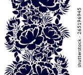 abstract elegance seamless...   Shutterstock .eps vector #265196945